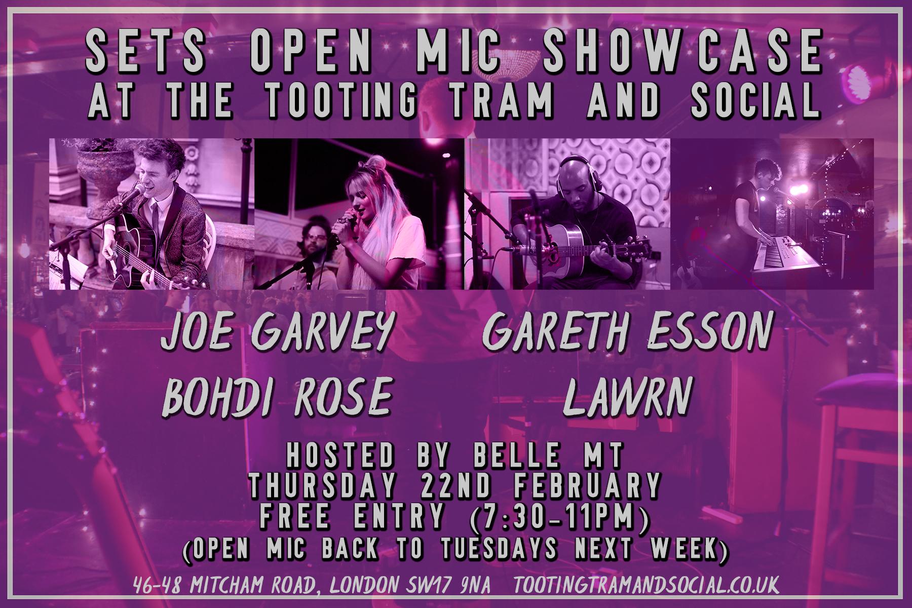 Open Mic Showcase Night