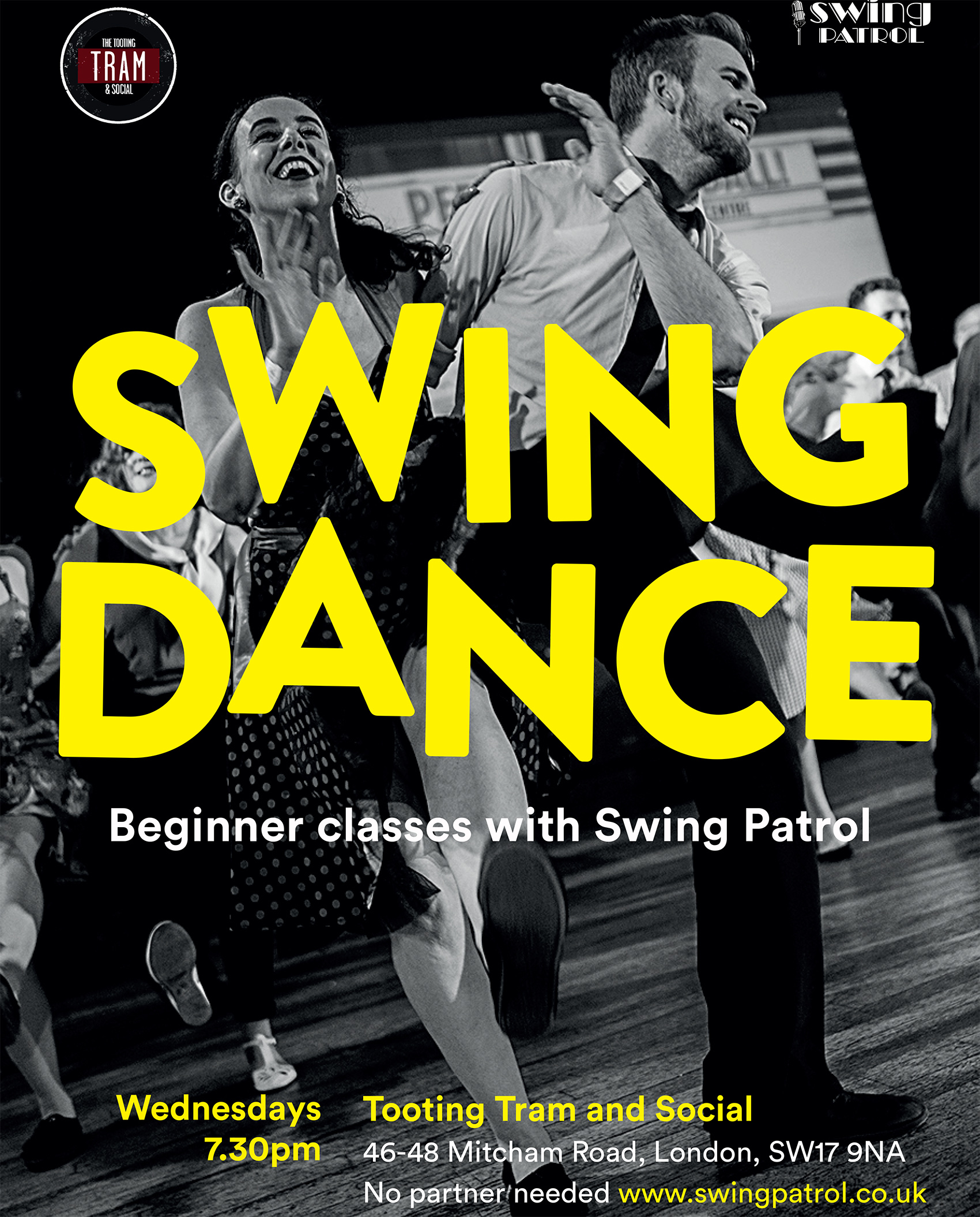 Swing Patrol: Amateur Swing Dance Classes