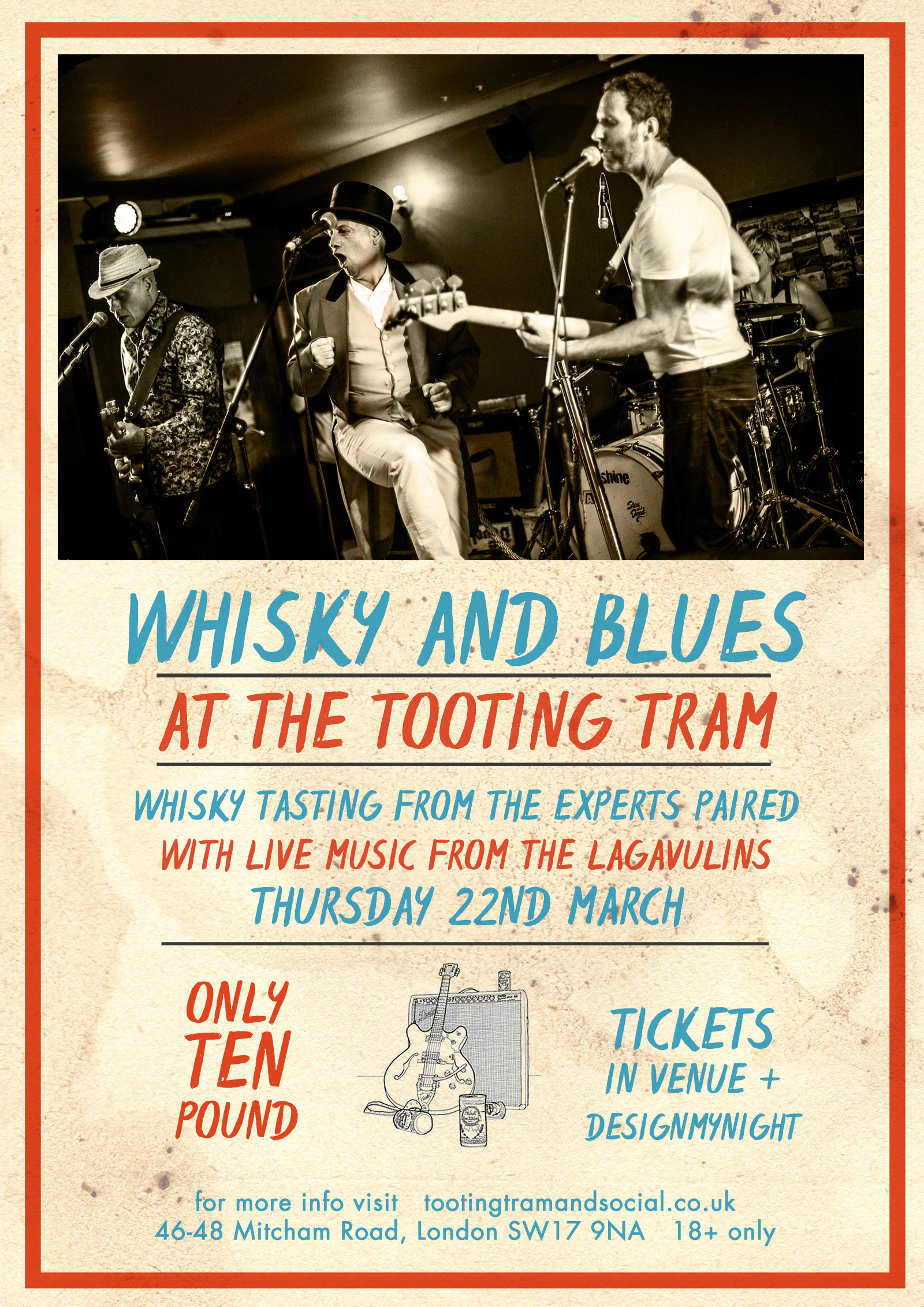 Whisky & Blues: An evening of Drams and Live Music - £10
