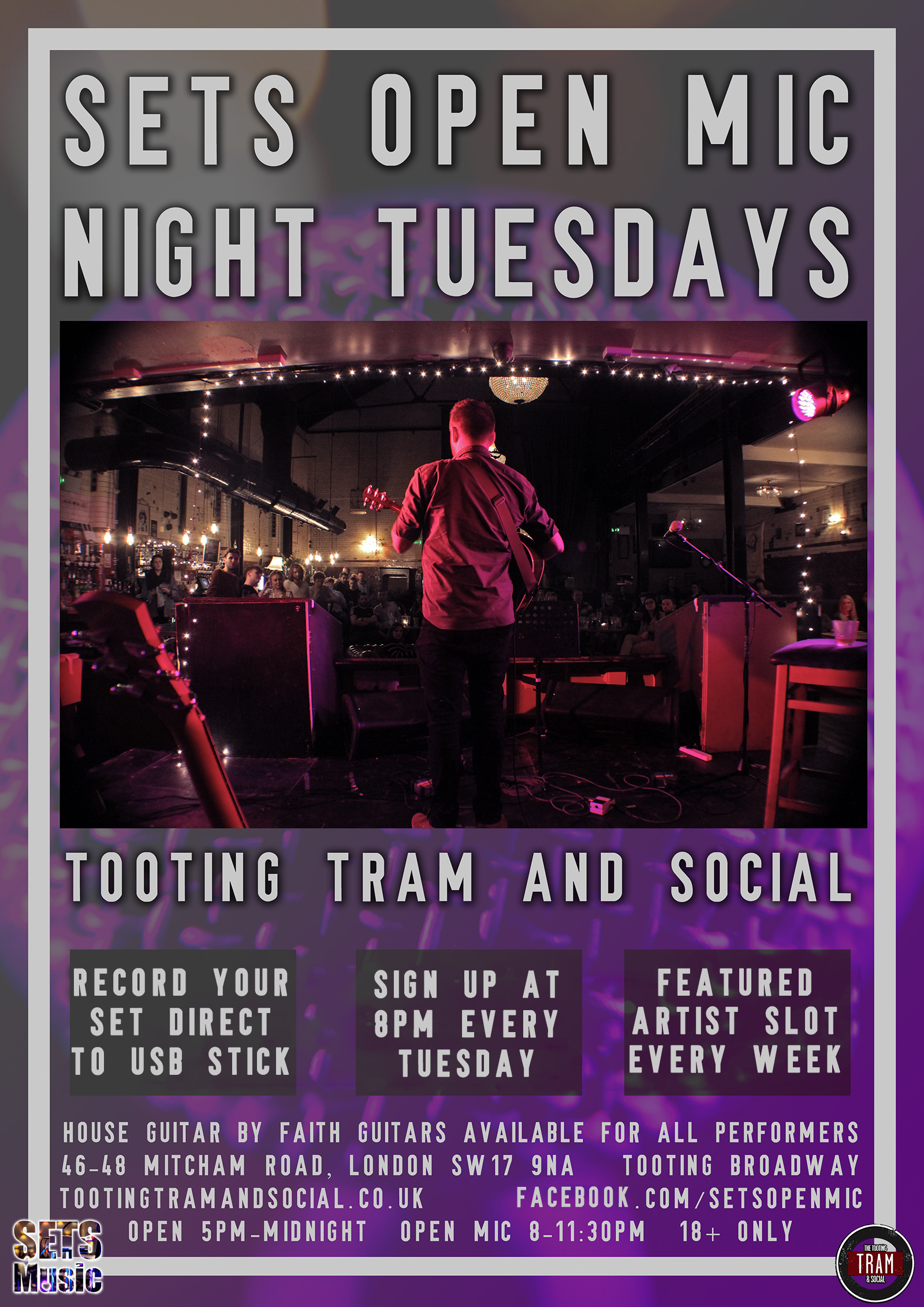 Open Mic Night: Every Tuesday