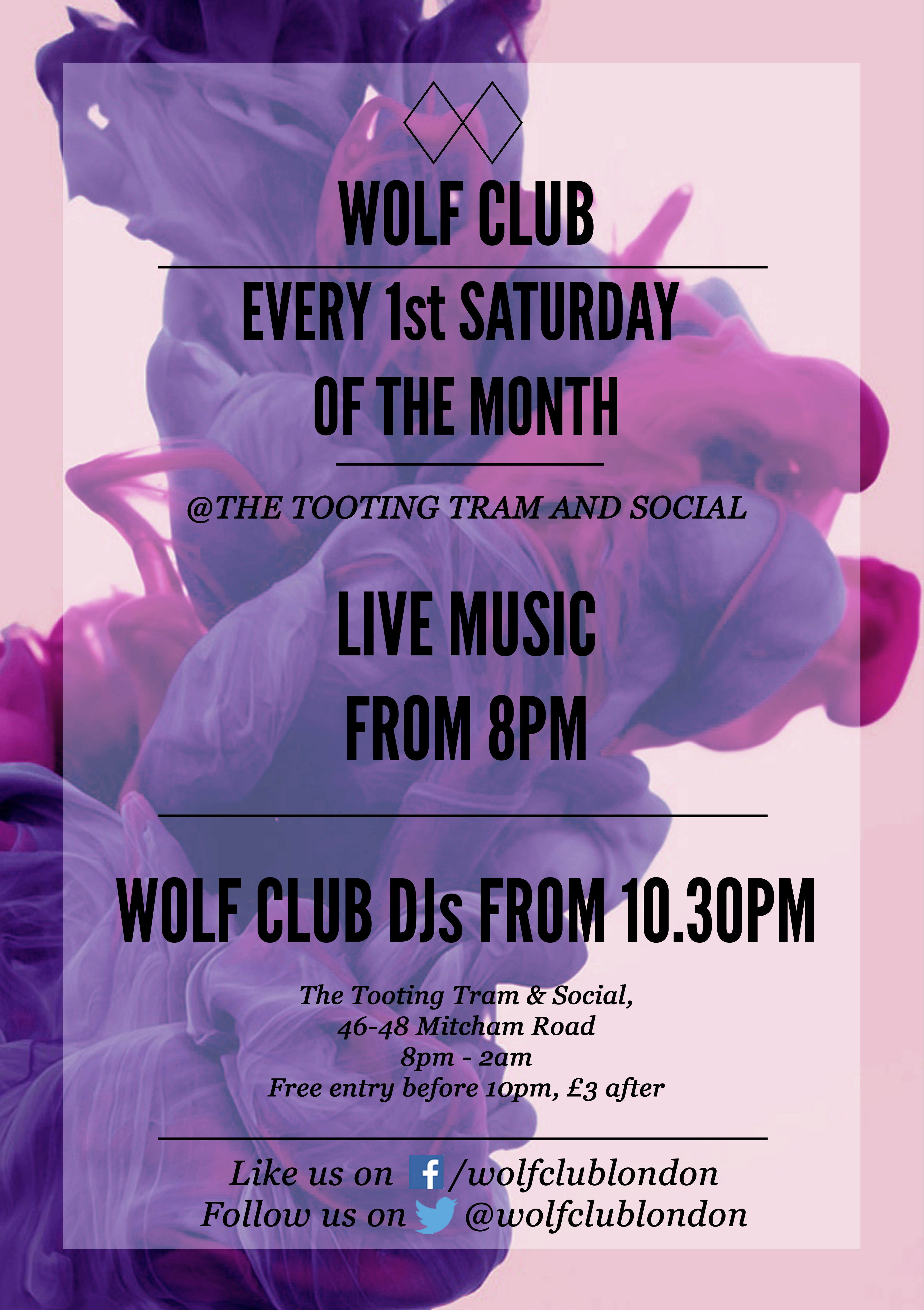 WOLF CLUB: Live Music tba / WOLF CLUB DJs