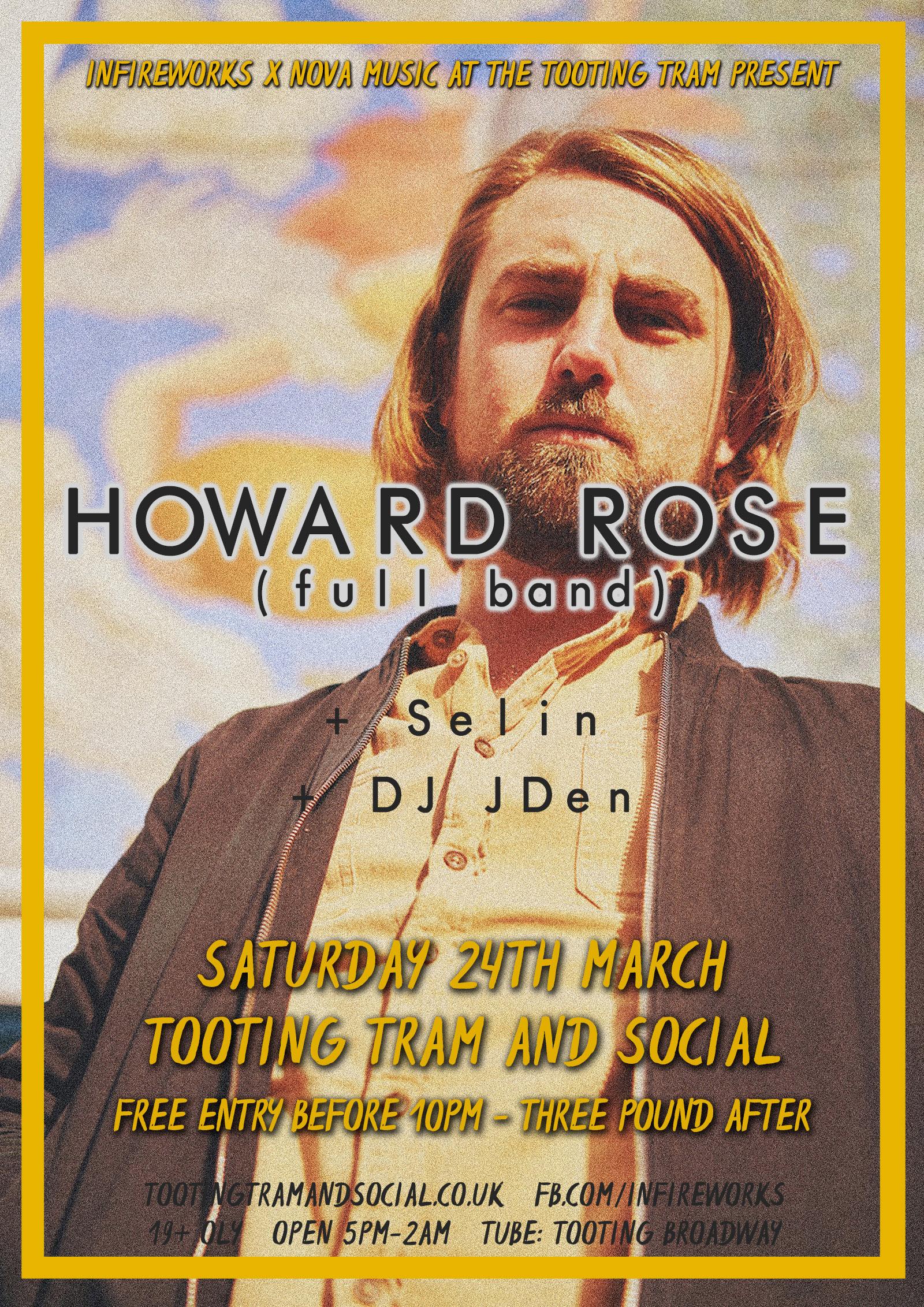 InFireworks: Howard Rose + Selin / DJ JDen